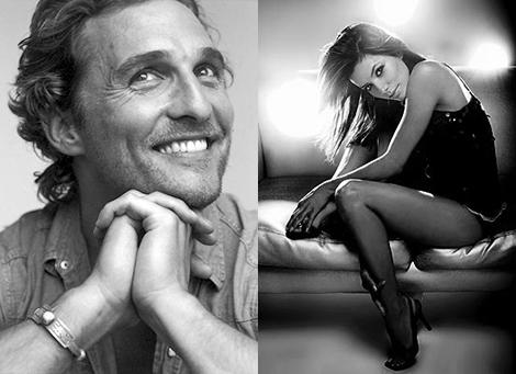 Matthew mcconaughey y Eva Longoria