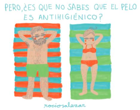 Ilustración de Rocío Salazar
