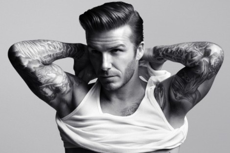 El señor Beckham haciendo puntos