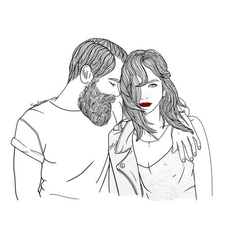 Sara Herranz  - poema de san valentín: lo nuestro es amor verdadero. con escenas de porno casero.