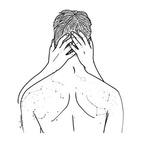 y besar la constelación de pecas de tu espalda.
